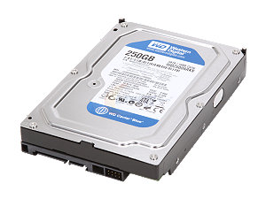 ����� ���� Western Digital 250GB SATAII Caviar Blue