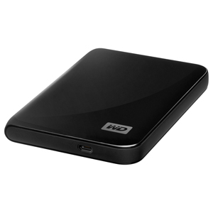 �������� ����� ���� Western Digital 320GB USB My Passport Essential Black